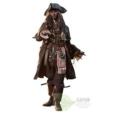 Dead Pirate Halloween Costume Toys Pirates Caribbean Dead Men Tales Movie