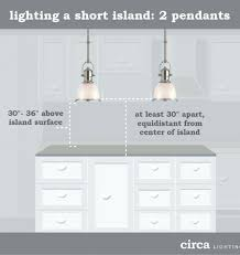 Kitchen Island Spacing New Pendant Lights Island How To Hang Pendant Lights An