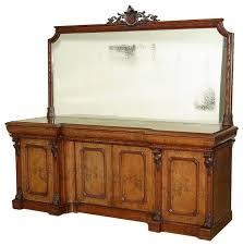 antiques consigned c1870 8ft mahogany pollard oak mirrored back