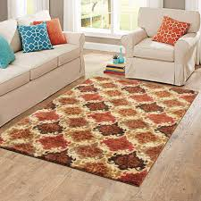 Damask Round Rug Better Homes And Gardens Spice Damask Accent Rug Multiple Colors