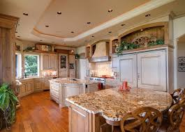 second kitchen islands large country kitchen with curved wall and two islands cabinets