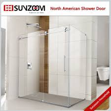sunzoom curved glass shower door curved shower door rollers
