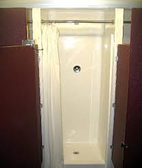 shower stall corner shower stall to cut your bathroom