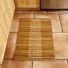 amazon com anji mountain amb0090 0023 bamboo kitchen and bath mat