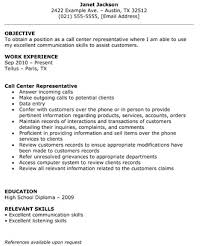 customer service call center resume sample free resumes tips