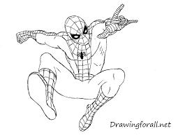 draw amazing spider man drawingforall net