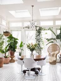 amenager une veranda idée déco une véranda dans la maison une hirondelle dans les