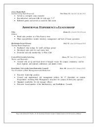 Camp Counselor Job Description For Resume by Kenneth Clarke Jr Final Resume