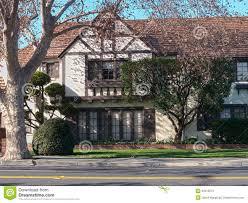 elegant tudor style victorian house stock photos image 23315613