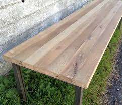 Oak Meeting Table Reclaimed Wood Tables