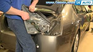 how much to fix a tail light how to install replace taillight and bulb nissan maxima 04 08 1aauto