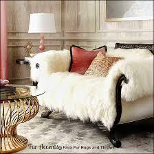 fur chair cover shaggy mongolian sheepskin throw blanket sofa cover chair cover