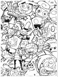 cartoon coloring pages exprimartdesign