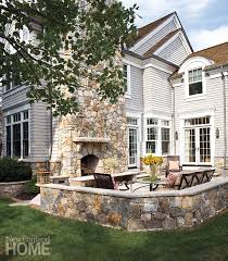 New England Backyards by Chic At The Shore New England Home Magazine B A C K Y A R D S