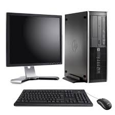 compaq pc bureau pc de bureau hp compaq 8100 elite 3 2ghz 4 go 320 go ecran