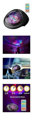 sound machine with light projector sound therapy soaiy sleep sound machine and night light projector