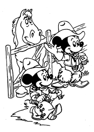 mickey mouse coloring page 10