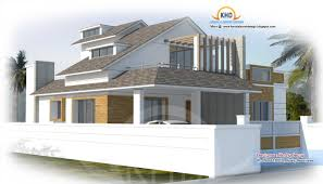 modern house plan sq ft kerala design idea with beautiful map for