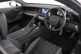 lexus white interior interior lexus lc 500 au spec u00272017