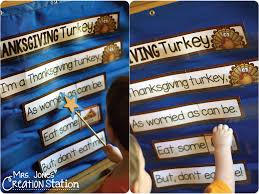 thanksgiving turkey interactive poem mrs jones creation station