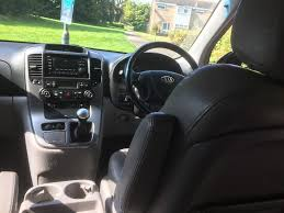 black kia sedona mot july 2018 in leamington spa