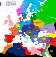 european countries on a map 1647 1677 europe 1430 map alternative history fandom
