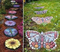 41 ingenious and beautiful diy garden path ideas to realize in