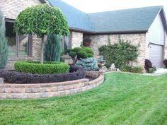 front yard walls front yard retaining wall yard designs