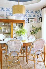 enchanting dining room wallpaper murals classic wall with chair
