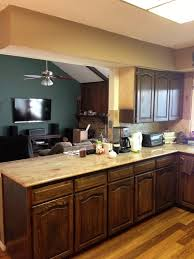 Refinishing Kitchen Cabinet How To Refinish Kitchen Cabinets With Chalk Paint Tehranway