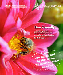 australia native plants bee friendly a planting guide for european honeybees and