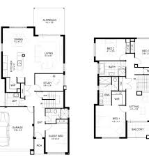 Small Two Story House Modern House Plans Two Story