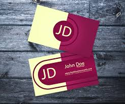 25 free pink business card templates business cards pinterest
