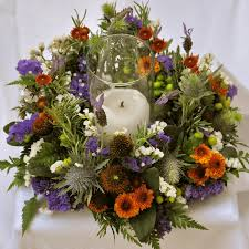 happy thanksgiving centerpieces by flower duet