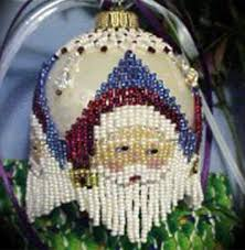 christmas ornament covers holiday bead kits bead kits