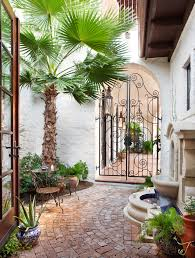 Mediterranean Patio Design Fabulous Palm Tree Mirror Sale Decorating Ideas Gallery In Patio