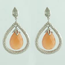 buy earrings online buy carillon india moonstone rainbow moonstone