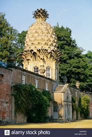 Garden Summer Houses Scotland - the dunmore pineapple in dunmore park airth central region stock