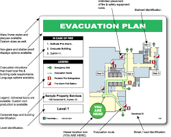 create a building evacdisplays how to create a emergency evacuation map