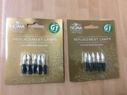 16 noma g1 light spare bulbs 6v 5v 0 72w push in fuse