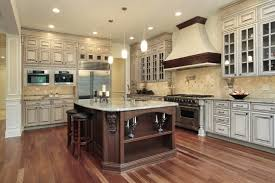 comparing light and dark kitchen cabinets