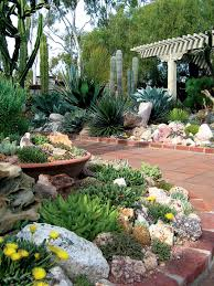 Images Of Rock Garden by Pacific Horticulture Society A Succulent Oasis At Sherman