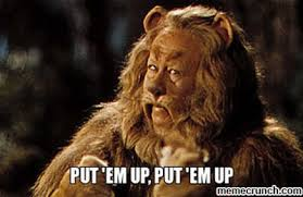Wizard Of Oz Meme Generator - luxury wizard of oz meme generator the cowardly lion put em up