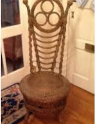 wicker chair u0027s natural finish adds value helaine fendelman