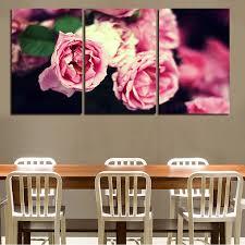 aliexpress com buy 2016 modern pink beautiful flower 3 pieces