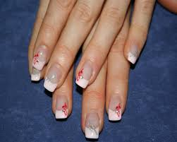 roses in red nail art archive style nails magazine