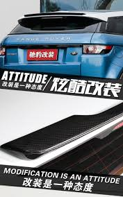 range rover evoque rear fit for land rover range rover evoque carbon fiber rear spoiler