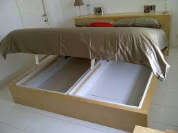malm marries alsarp storage bed ikea hack for king size bed looks