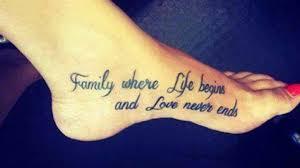 family and tatoos