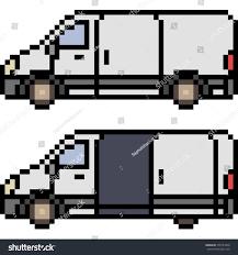 pixel art car vector pixel art car isolated stock vector 700753948 shutterstock